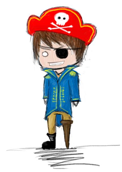 Guest Art: Joceyy Pirate