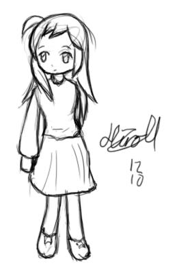 Random Vocaloid Girl