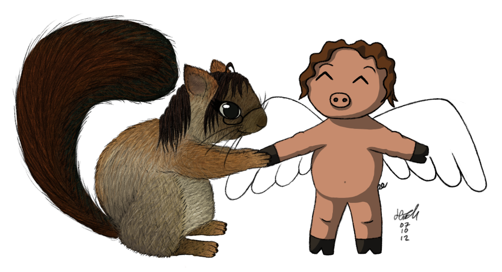 Pig and Squirrel